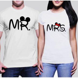 Тениски за влюбени - MR & MRS