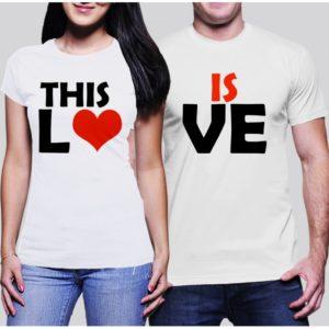 Комплект тениски - THIS IS LOVE
