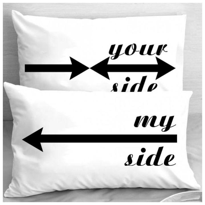 Калъфки за възглавници - My Side Your Side