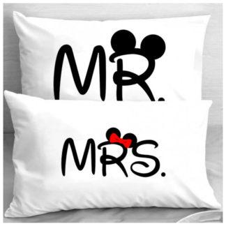 Калъфки за влюбени двойки – MR & MRS