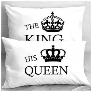 Калъфки за влюбени двойки – THE KING & HIS QUEEN