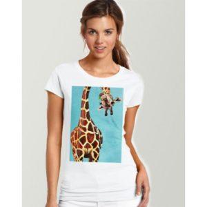 Дамска тениска – ART GIRAFFE