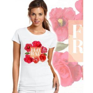 Дамска тениска – FLORAL
