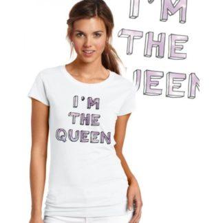 Дамска тениска – I'M THE QUEEN