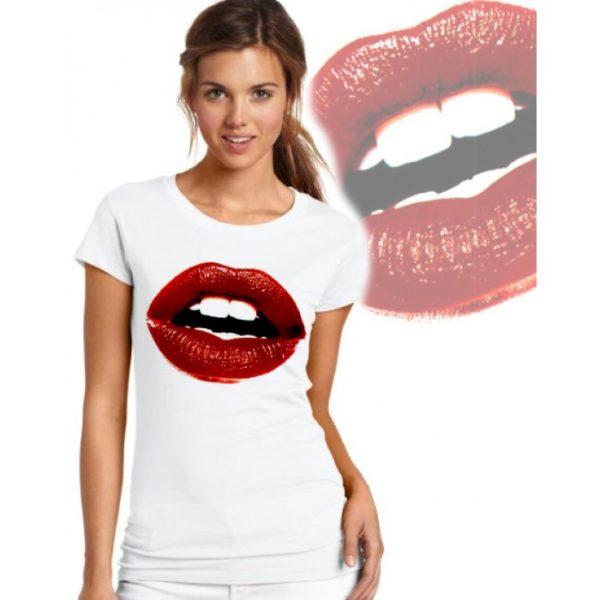 Дамска тениска – LIPS