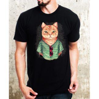 Мъжка тениска-CAT-2