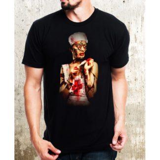 Мъжка тениска-HORROR WOMAN