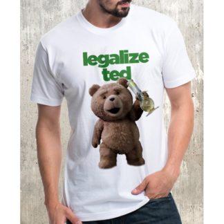 Мъжка тениска-LEGALIZED TED