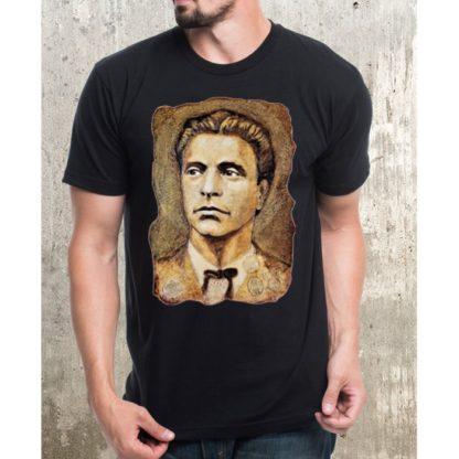 Тениска Васил Левски-двулицев печат
