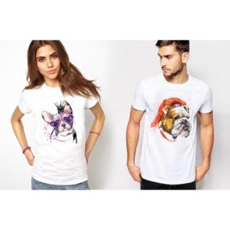 Тениски за влюбени-ART DOG