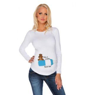 Дамска блуза за бременни - 11
