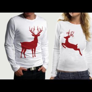 Комплект блузи за влюбени – XMAS DEER PR.2