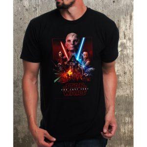 Мъжка тениска – STAR WARS THE LAST JEDI