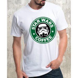 Мъжка тениска – STAR WARS COFFEE