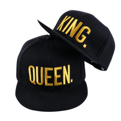 Комплект шапки – KING & QUEEN GOLD