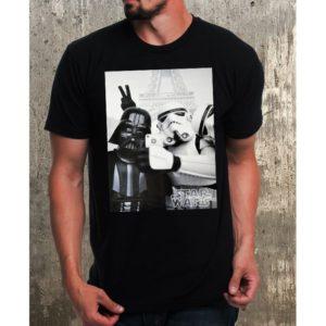 Мъжка тениска–STORMTROOPER AND DARTH VADER SELFIE