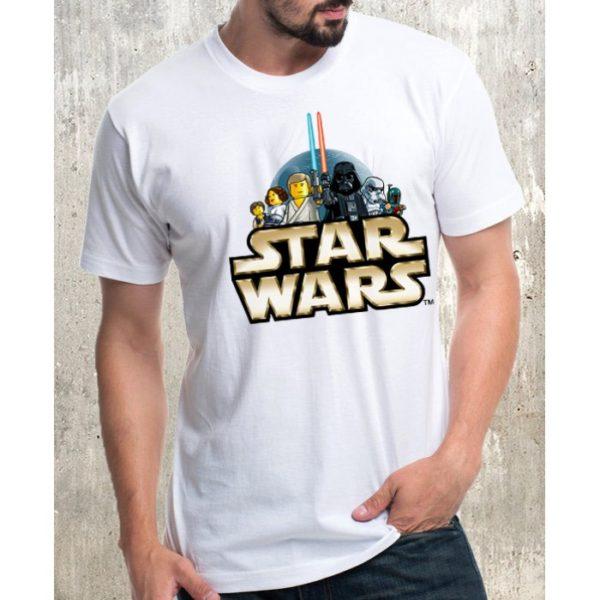 Мъжка тениска – STAR WARS LEGO