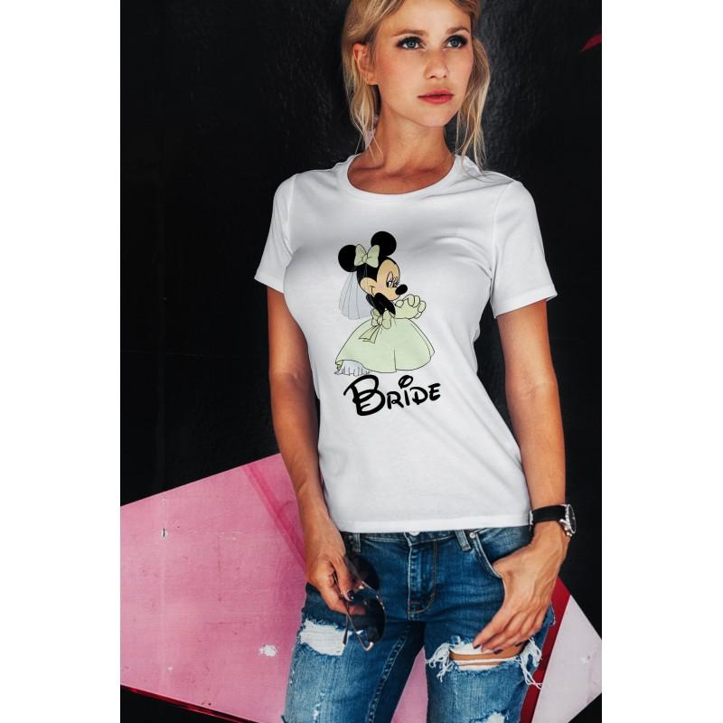 Тениска за моминско парти – MINNIE BRIDE