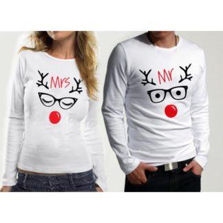 Блузи за влюбени – Christmas Deer 2