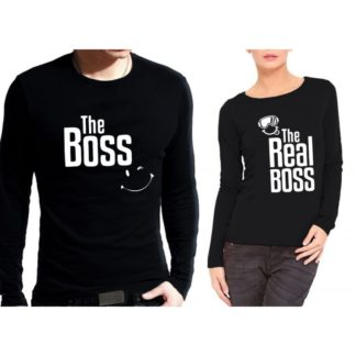 Блузи за влюбени – The Boss & The Real Boss