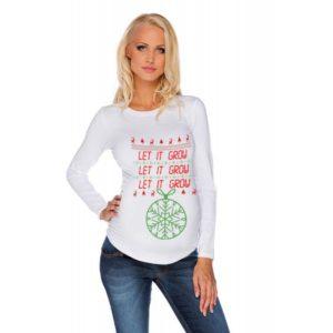Дамска блуза щампа за бременни – 27
