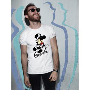 Тениски за ергенско парти – Mickey Groom