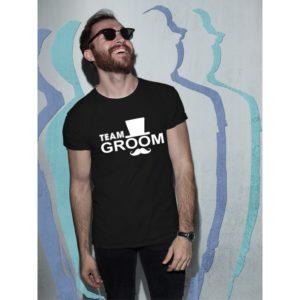 Тениски за ергенско парти – Team Groom 02