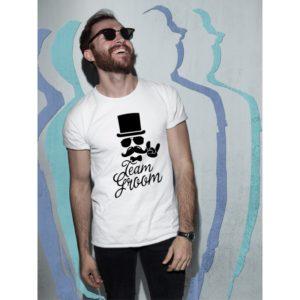 Тениски за ергенско парти – Team Groom