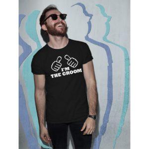 Тениски за ергенско парти-I'm The Groom