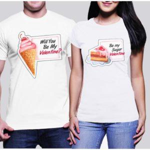 Тениски за влюбени – Be My Valentine