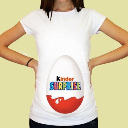 Дамска тениска щампа за бременни – 32