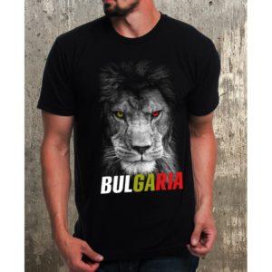 Мъжка тениска България-Лъв