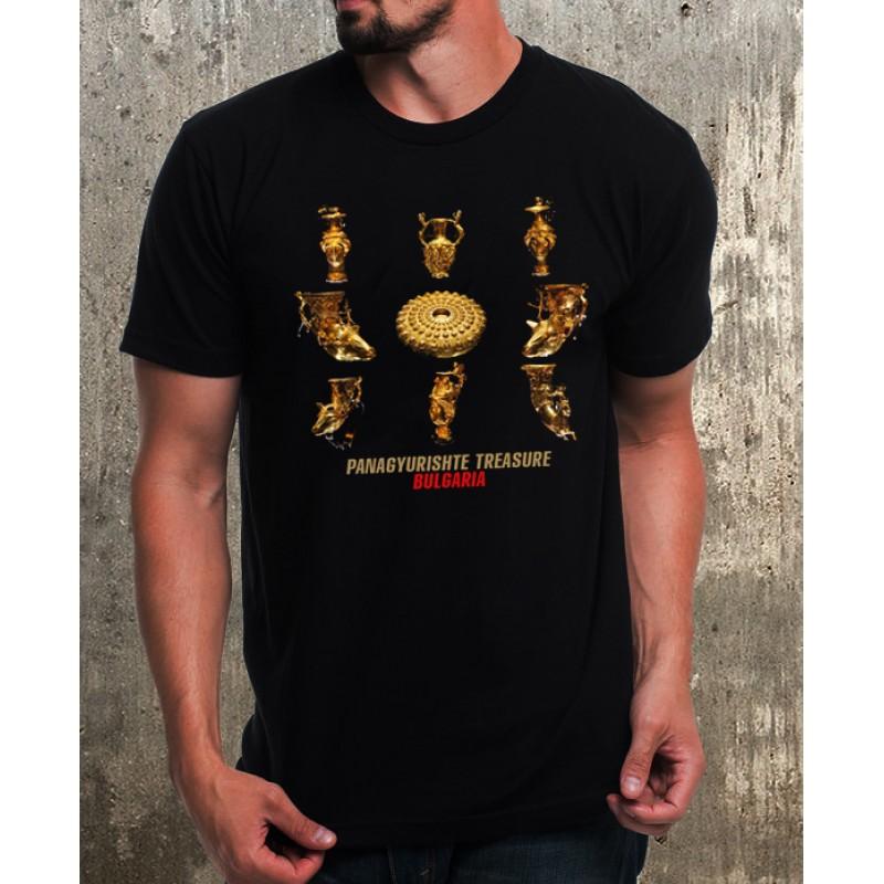 Мъжка тениска Панагюрско съкровище