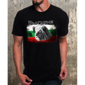 Мъжка тениска с Герб и лъв