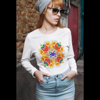 Дамска блуза с етно мотиви 01