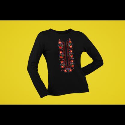 Дамска блуза с етно мотиви 06