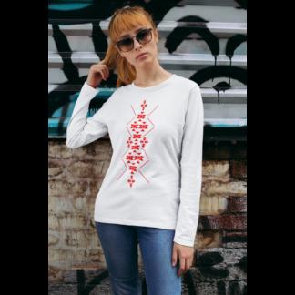 Дамска блуза с етно мотиви 09