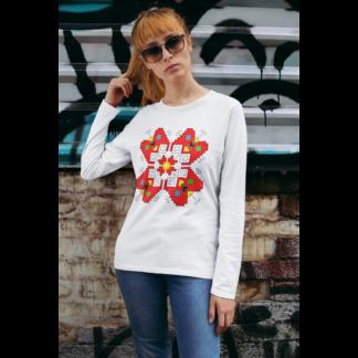 Дамска блуза с етно мотиви 11