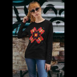 Дамска блуза с етно мотиви 12