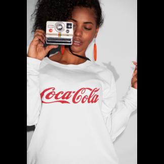 Дамска ватирана блуза Coca-Cola