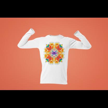Мъжка блуза с етно мотиви 01