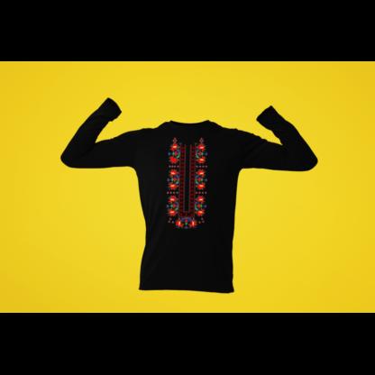 Мъжка блуза с етно мотиви 06
