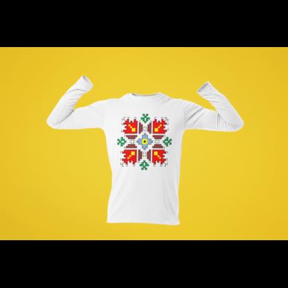 Мъжка блуза с етно мотиви 07