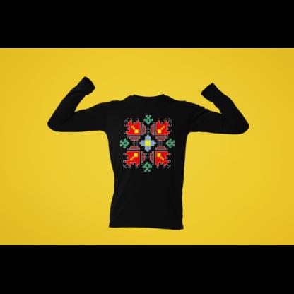 Мъжка блуза с етно мотиви 08