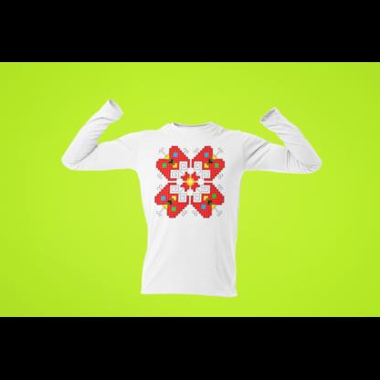 Мъжка блуза с етно мотиви 11