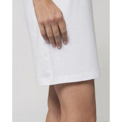 Дамска тениска-рокля с шевица - 04
