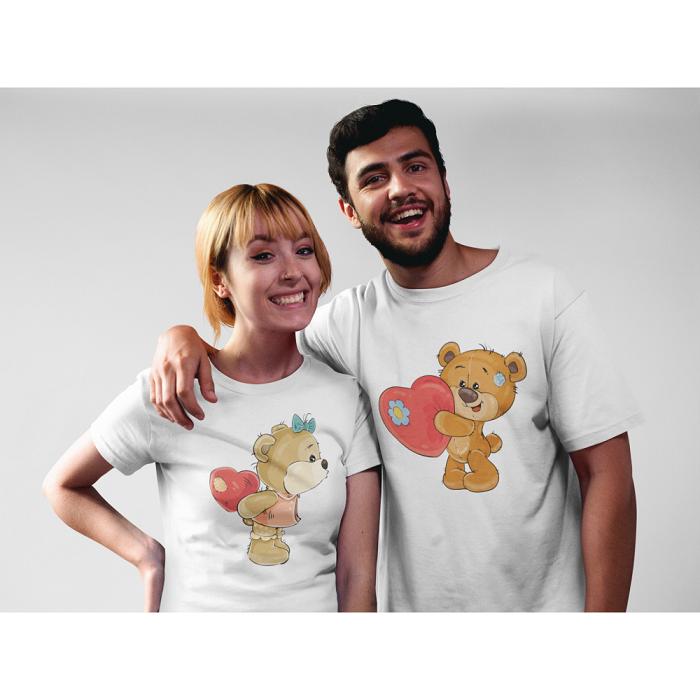 Тениски за влюбени – BEAR HEART
