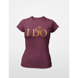 Тениски за моминско парти – I DO