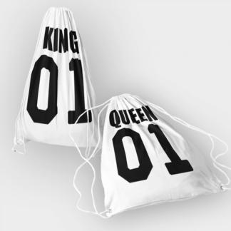 Комплект раници – KING QUEEN 01