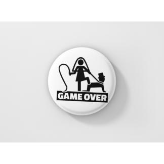 Значка за ергенско парти – GAME OVER